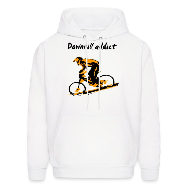 Mountain Bike Downhill Hoodie - Downhill Addict