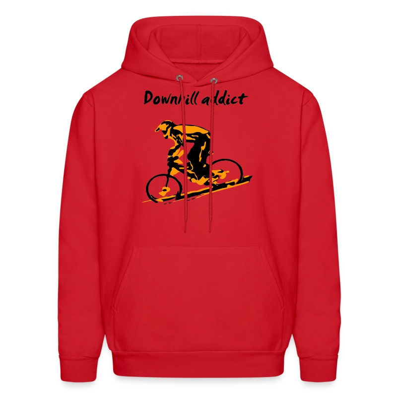 Mountain Bike Downhill Hoodie - Downhill Addict - Men's Hoodie