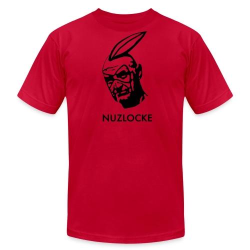 Men's Nuzlocke Stencil (American Apparel) - Men's Fine Jersey T-Shirt