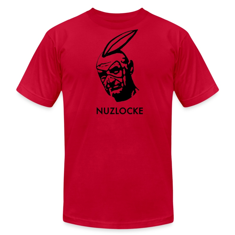 Men's Nuzlocke Stencil (American Apparel) - Men's T-Shirt by American Apparel