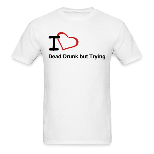 I Love DDbT for Men - Men's T-Shirt