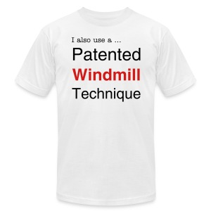 Patented Windmill Technique for Men - Men's T-Shirt by American Apparel