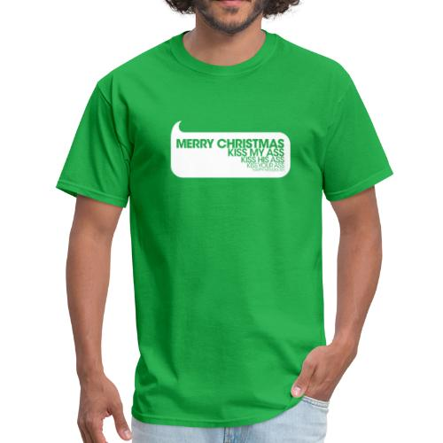 Merry Christmas. Kiss My Ass. Christmas Vacation Tee - Men's T-Shirt