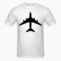 Light oxford airplane aircraft T-Shirts