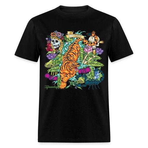 Tiger Tattoo - Men's T-Shirt