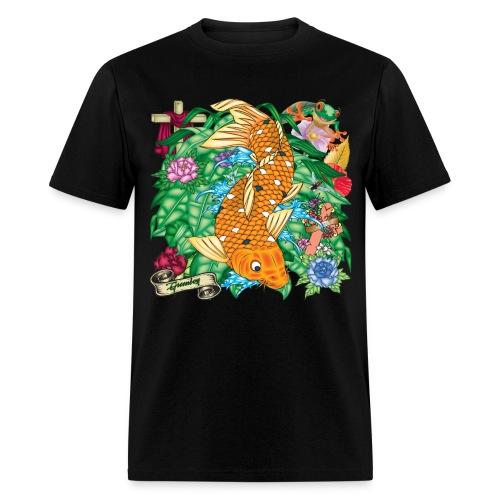 Koi Tattoo - Men's T-Shirt