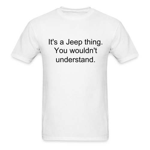 Jeep thing tee - Men's T-Shirt