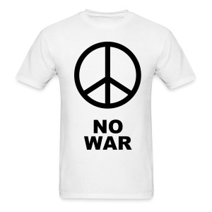Peace Shirt (NO WAR) - Men's T-Shirt