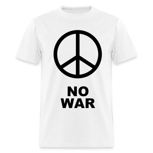 Peace Shirt (NO WAR) - Men's T-Shirt
