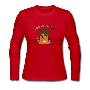 I Love Her Superpowers - Women's Long Sleeve Jersey T-Shirt