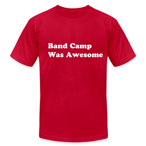 Band Camp Was Awesome - Men's Fine Jersey T-Shirt