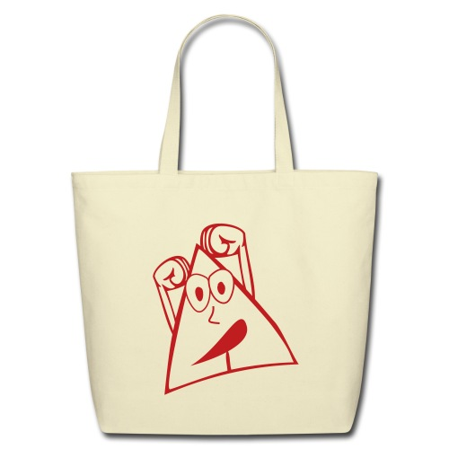 I Love being happy - Eco-Friendly Cotton Tote