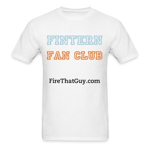 FINTERN FAN CLUB - Men's T-Shirt