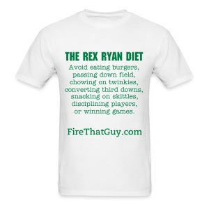 THE REX RYAN DIET - Men's T-Shirt