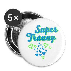 Super Tranny Buttons - Large Buttons