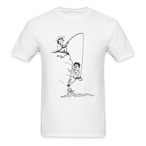 Climbing T-shirt - Deep Water Solo & Fisherman - Men's T-Shirt