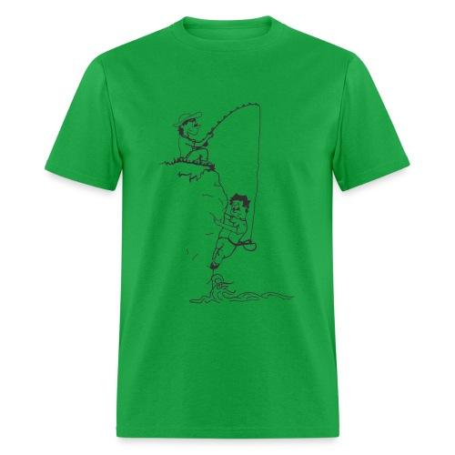 Climbing T-shirt - Deep Water Solo & Fisherman - Colored Tee - Men's T-Shirt