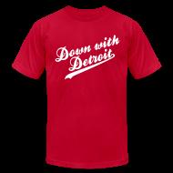 T-Shirts ~ Men's T-Shirt by American Apparel ~ Down with Detroit Men's American Apparel Tee