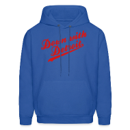 Hoodies ~ Men's Hoodie ~ Down with Detroit Men's Hooded Sweatshirt