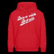 Hoodies ~ Men's Hoodie ~ Down with Detroit Men's Hooded Sweatshirt