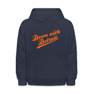 Sweatshirts ~ Kids' Hoodie ~ Down with Detroit Kid's Hooded Sweatshirt