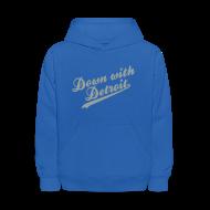 Sweatshirts ~ Kids' Hoodie ~ Down with Detroit Kid's Hooded Sweatshirt