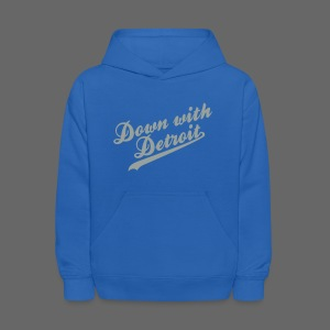 Down with Detroit Kid's Hooded Sweatshirt - Kids' Hoodie