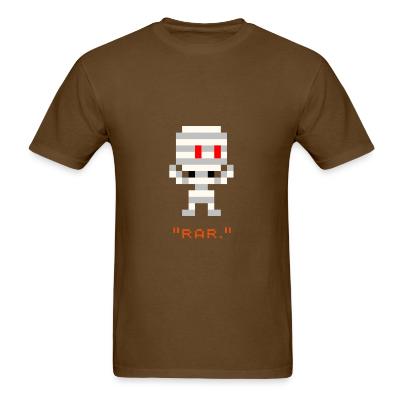 Halloween - 8-bit Mummy - Men's T-Shirt