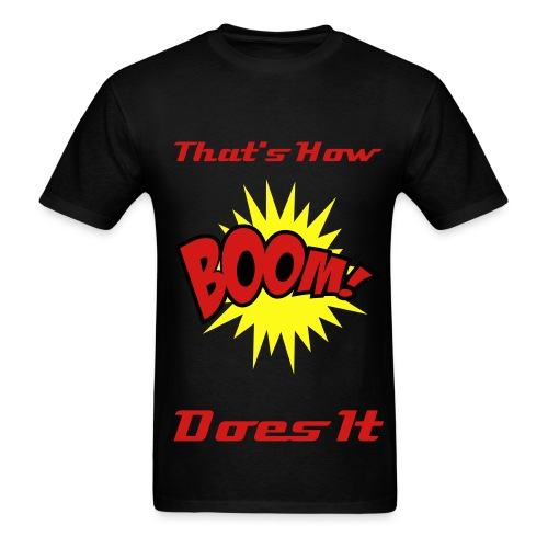 c2goboom special edition - Men's T-Shirt
