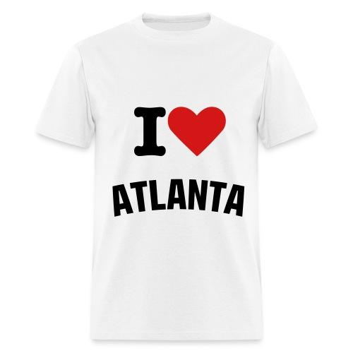 I LOVE ATLANTA - Men's T-Shirt