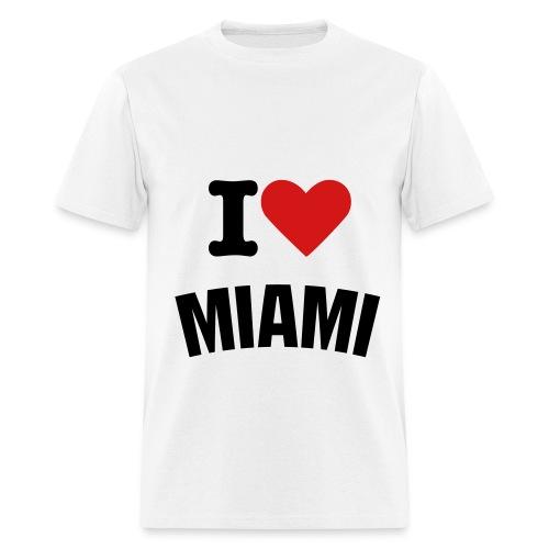 I LOVE MIAMI - Men's T-Shirt