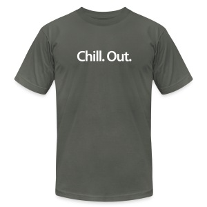 Chill. Out.™ American Apparel T-shirt - Men's Fine Jersey T-Shirt