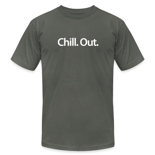 Chill. Out.™ American Apparel T-shirt - Men's Fine Jersey T-Shirt