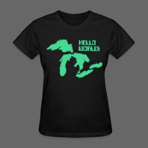 Hello World Women's Standard Weight T-Shirt - Women's T-Shirt