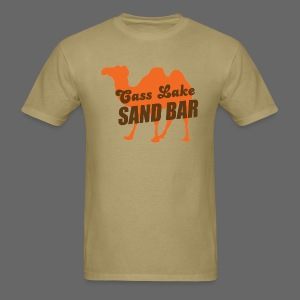 Cass Lake Sand Bar Men's Standard Weight T-Shirt - Men's T-Shirt