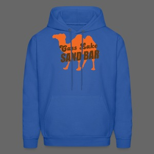 Cass Lake Sand Bar Men's Hooded Sweatshirt - Men's Hoodie