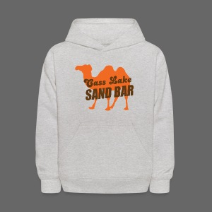 Cass Lake Sand Bar Kid's Hooded Sweatshirt - Kids' Hoodie