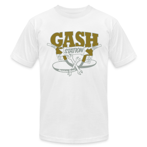 Gash Station Men's T - Men's T-Shirt by American Apparel