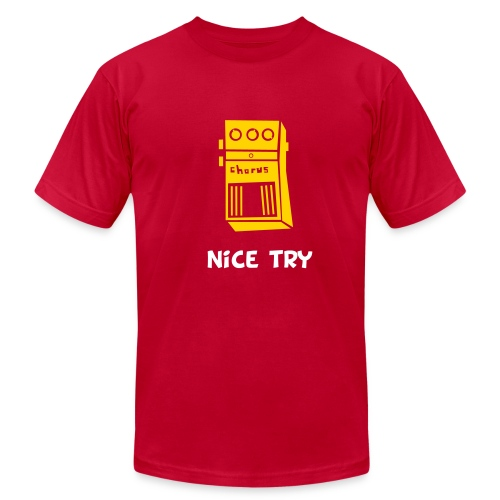 Nice Try // Red - Men's  Jersey T-Shirt