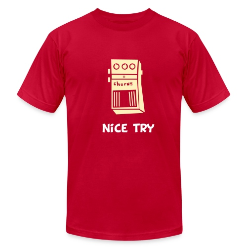 Nice Try // Brown - Men's Fine Jersey T-Shirt