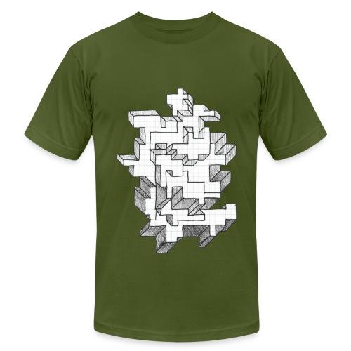 Blocks - Men's  Jersey T-Shirt