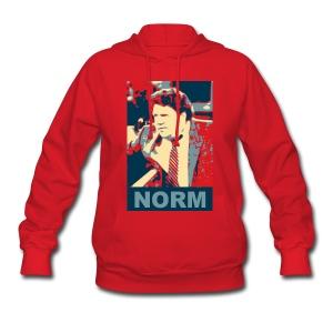 Norm! Women's Hooded Sweatshirt - Women's Hoodie