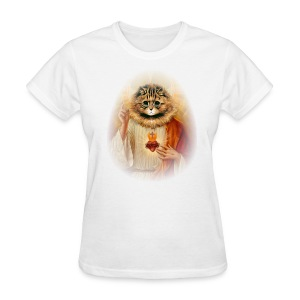 Kitty Jesus - Women's T-Shirt