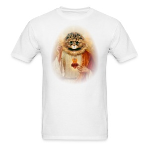 Kitty Jesus - Men's T-Shirt