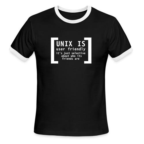 Unix is... - Men's Ringer T-Shirt