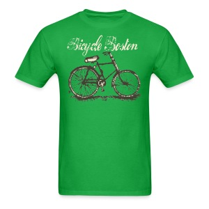 Bicycle Boston Men's Standard Weight T-Shirt - Men's T-Shirt