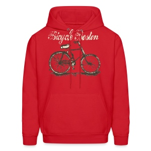 Bicycle Boston Men's Hooded Sweatshirt - Men's Hoodie