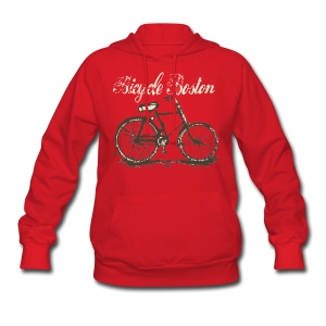 Bicycle Boston Women's Hooded Sweatshirt - Women's Hoodie