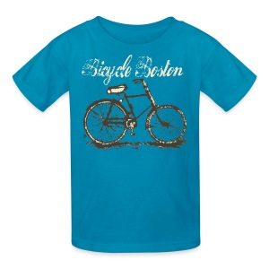 Bicycle Boston Children's T-Shirt - Kids' T-Shirt