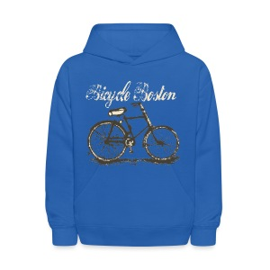 Bicycle Boston Kid's Hooded Sweatshirt - Kids' Hoodie